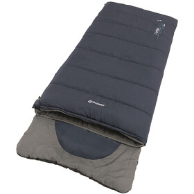 Outwell Contour Sleeping Bag Youth, azul/gris